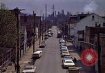 Image of neighborhood near steel mill Aliquippa Pennsylvania USA, 1970, second 12 stock footage video 65675036743