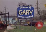Image of Welcome to Gary Indiana Gary Indiana USA, 1970, second 6 stock footage video 65675036748