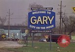 Image of Welcome to Gary Indiana Gary Indiana USA, 1970, second 8 stock footage video 65675036748