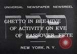 Image of Jewish festival New York United States USA, 1932, second 3 stock footage video 65675036756