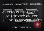 Image of Jewish festival New York United States USA, 1932, second 4 stock footage video 65675036756