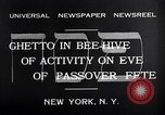 Image of Jewish festival New York United States USA, 1932, second 6 stock footage video 65675036756