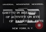 Image of Jewish festival New York United States USA, 1932, second 7 stock footage video 65675036756