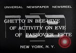 Image of Jewish festival New York United States USA, 1932, second 8 stock footage video 65675036756