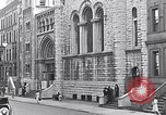 Image of St Andrews church welcomes Jewish Synagogue New York City USA, 1934, second 3 stock footage video 65675036759
