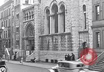 Image of St Andrews church welcomes Jewish Synagogue New York City USA, 1934, second 4 stock footage video 65675036759