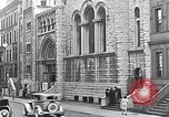 Image of St Andrews church welcomes Jewish Synagogue New York City USA, 1934, second 5 stock footage video 65675036759