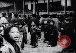 Image of presentation by school children Japan, 1900, second 3 stock footage video 65675036776