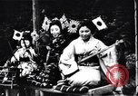 Image of women dance and play music Japan, 1900, second 3 stock footage video 65675036779