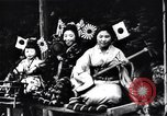 Image of women dance and play music Japan, 1900, second 4 stock footage video 65675036779
