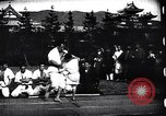 Image of martial arts training Japan, 1900, second 8 stock footage video 65675036780