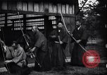 Image of archers practicing Japan, 1900, second 3 stock footage video 65675036781