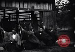 Image of archers practicing Japan, 1900, second 5 stock footage video 65675036781