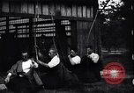 Image of archers practicing Japan, 1900, second 7 stock footage video 65675036781