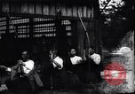 Image of archers practicing Japan, 1900, second 8 stock footage video 65675036781