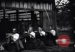 Image of archers practicing Japan, 1900, second 11 stock footage video 65675036781