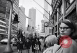 Image of People on streets of Chicago in 1960s Chicago Illinois USA, 1965, second 1 stock footage video 65675036783
