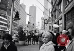 Image of People on streets of Chicago in 1960s Chicago Illinois USA, 1965, second 6 stock footage video 65675036783