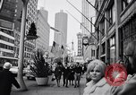 Image of People on streets of Chicago in 1960s Chicago Illinois USA, 1965, second 7 stock footage video 65675036783