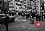 Image of People on streets of Chicago in 1960s Chicago Illinois USA, 1965, second 11 stock footage video 65675036783