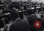Image of Clerks process customer telephone orders in a large Chicago office Chicago Illinois USA, 1965, second 1 stock footage video 65675036792