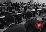 Image of Clerks process customer telephone orders in a large Chicago office Chicago Illinois USA, 1965, second 2 stock footage video 65675036792