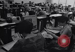 Image of Clerks process customer telephone orders in a large Chicago office Chicago Illinois USA, 1965, second 4 stock footage video 65675036792