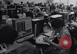 Image of women telephone switchboard workers Chicago Illinois USA, 1965, second 5 stock footage video 65675036792