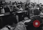 Image of Clerks process customer telephone orders in a large Chicago office Chicago Illinois USA, 1965, second 8 stock footage video 65675036792