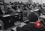 Image of women telephone switchboard workers Chicago Illinois USA, 1965, second 10 stock footage video 65675036792