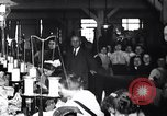 Image of Workers in clothing factory Chicago United States USA, 1910, second 10 stock footage video 65675036803