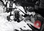 Image of Workers in clothing factory Chicago United States USA, 1910, second 12 stock footage video 65675036803