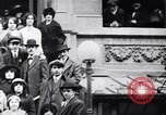 Image of Mounted police break up workers gathering Chicago United States USA, 1910, second 3 stock footage video 65675036804