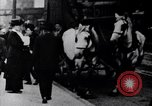 Image of Mounted police break up workers gathering Chicago United States USA, 1910, second 8 stock footage video 65675036804