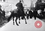 Image of Mounted police break up workers gathering Chicago United States USA, 1910, second 9 stock footage video 65675036804
