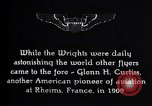 Image of History of Aviation Rheims France, 1938, second 8 stock footage video 65675036827