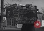 Image of Wright brothers' bike shop Dayton Ohio USA, 1951, second 2 stock footage video 65675036835