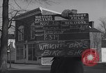 Image of Wright brothers' bike shop Dayton Ohio USA, 1951, second 4 stock footage video 65675036835