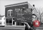 Image of Wright brother's cycle shop Dayton Ohio USA, 1951, second 1 stock footage video 65675036844