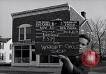 Image of Wright brother's cycle shop Dayton Ohio USA, 1951, second 2 stock footage video 65675036844