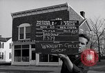 Image of Wright brother's cycle shop Dayton Ohio USA, 1951, second 3 stock footage video 65675036844