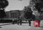 Image of James Hood and Vivian Malone enter University of Alabama Tuscaloosa Alabama USA, 1963, second 6 stock footage video 65675036867