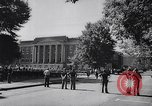 Image of James Hood and Vivian Malone enter University of Alabama Tuscaloosa Alabama USA, 1963, second 7 stock footage video 65675036867