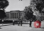 Image of James Hood and Vivian Malone enter University of Alabama Tuscaloosa Alabama USA, 1963, second 8 stock footage video 65675036867