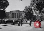 Image of James Hood and Vivian Malone enter University of Alabama Tuscaloosa Alabama USA, 1963, second 9 stock footage video 65675036867