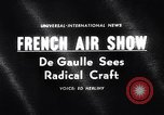 Image of 25th annual air show France, 1963, second 1 stock footage video 65675036868