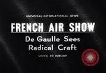 Image of 25th annual air show France, 1963, second 4 stock footage video 65675036868