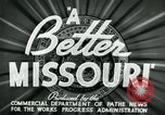Image of developments in Missouri Missouri United States USA, 1937, second 4 stock footage video 65675036887