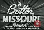 Image of developments in Missouri Missouri United States USA, 1937, second 6 stock footage video 65675036887