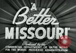 Image of developments in Missouri Missouri United States USA, 1937, second 8 stock footage video 65675036887